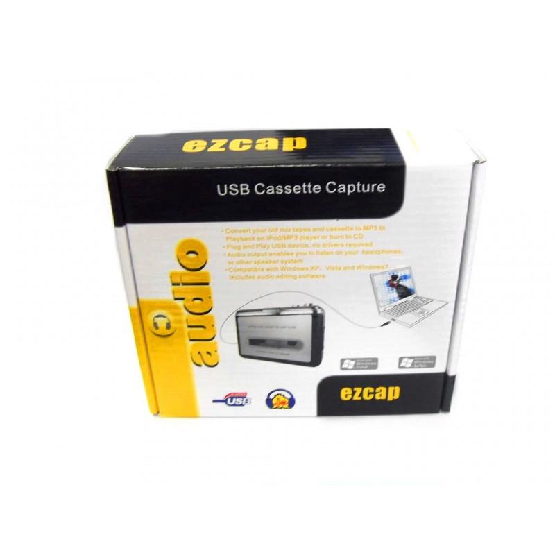 Адаптер (переходник) USB EZCap, USB Cassete Capture, плата аудиозахвата