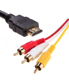 Адаптер (переходник) HDMI to AV adapter, кабель 1,5m