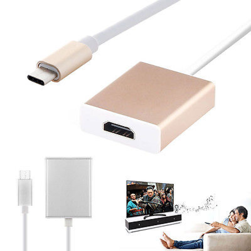 Адаптер (переходник) USB Type-C (m) to HDMI (f)