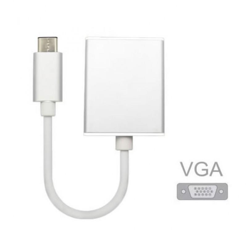 Адаптер (переходник) USB Type-C (m) to VGA (f)