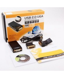 Адаптер USB to UGA  (USB - VGA/DVI/HDMI)  внешняя видеокарта