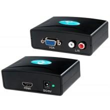 Конвертер VGA to HDMI+audio, Power of Tech FY1316