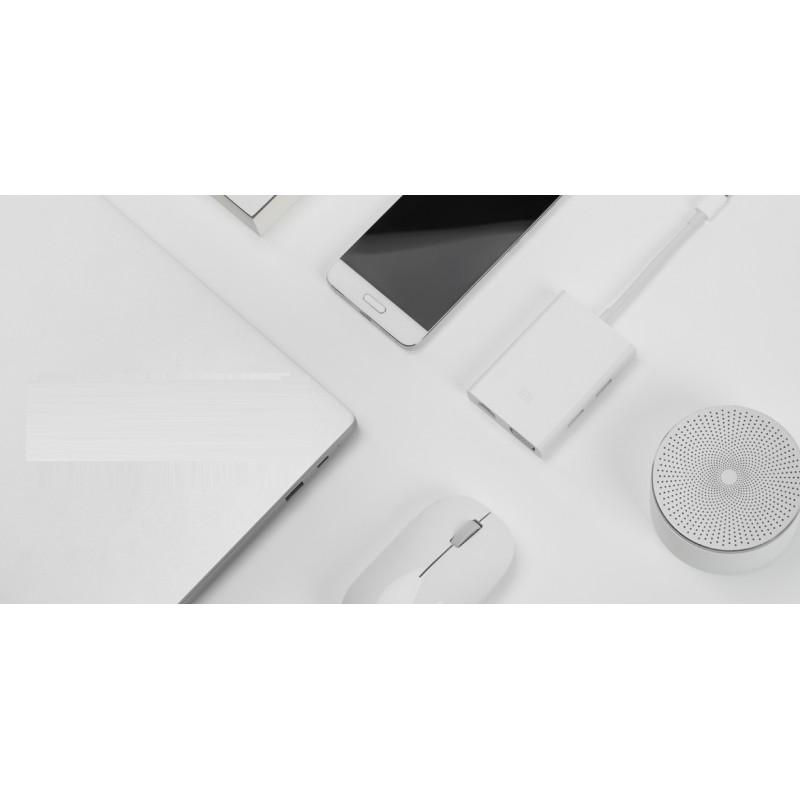 Адаптер (переходник) Xiaomi USB type-C to VGA/USB/LAN