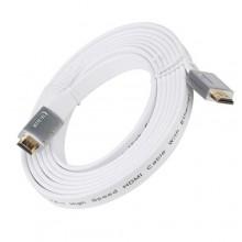 Интерфейсный кабель HDMI, Right, 10 метров, белый
