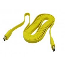 Интерфейсный кабель HDMI, RIGHT cable, 5m male to male, flat box, 1.4V