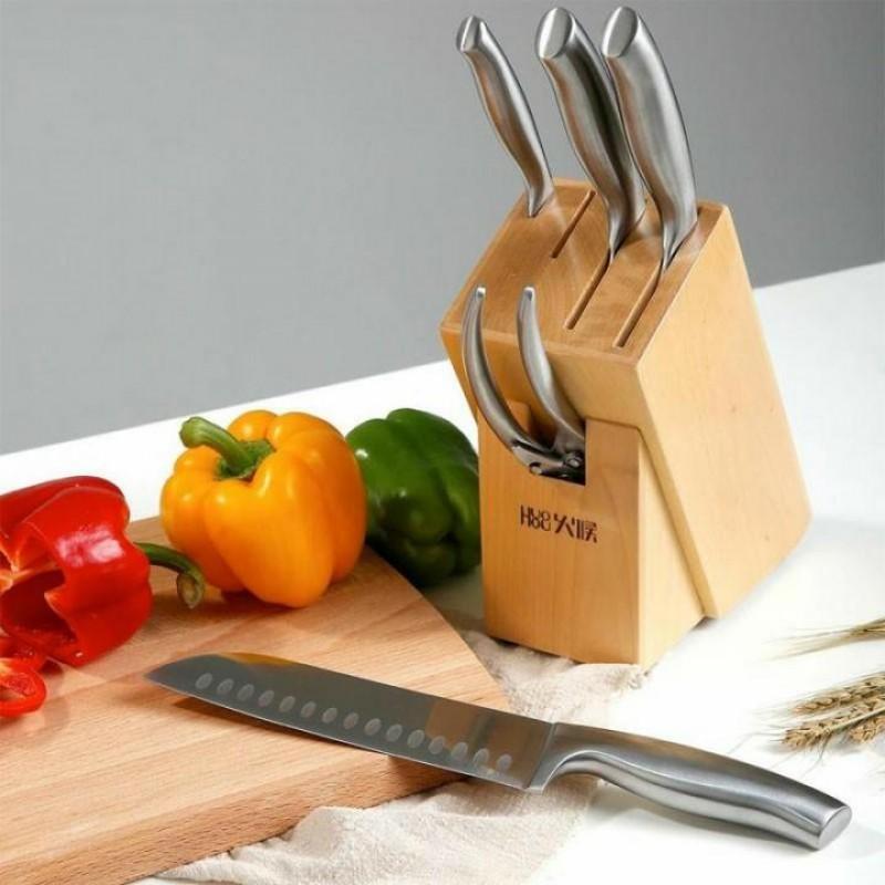 Xiaomi Huo Hou Stainless Steel Knife set, набор стальных ножей 5 в 1