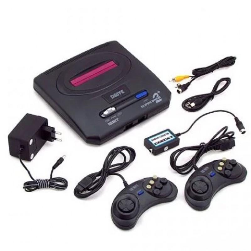 Игровая ТВ-приставка SEGA MEGA DRIVE II, 368 встроенных игр