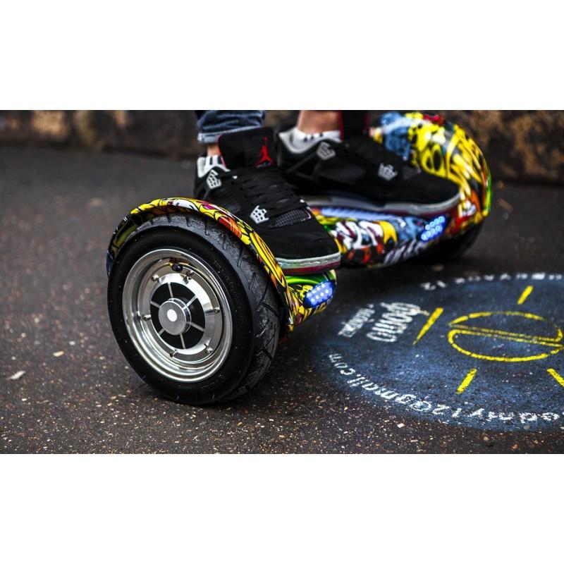 "Гироскутер FREEGO Smart Balance Wheel Offroad, колеса 10"", Стикербомбинг"