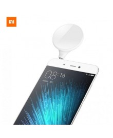 Xiaomi Selfie LED flash light, лампа для съемки сэлфи