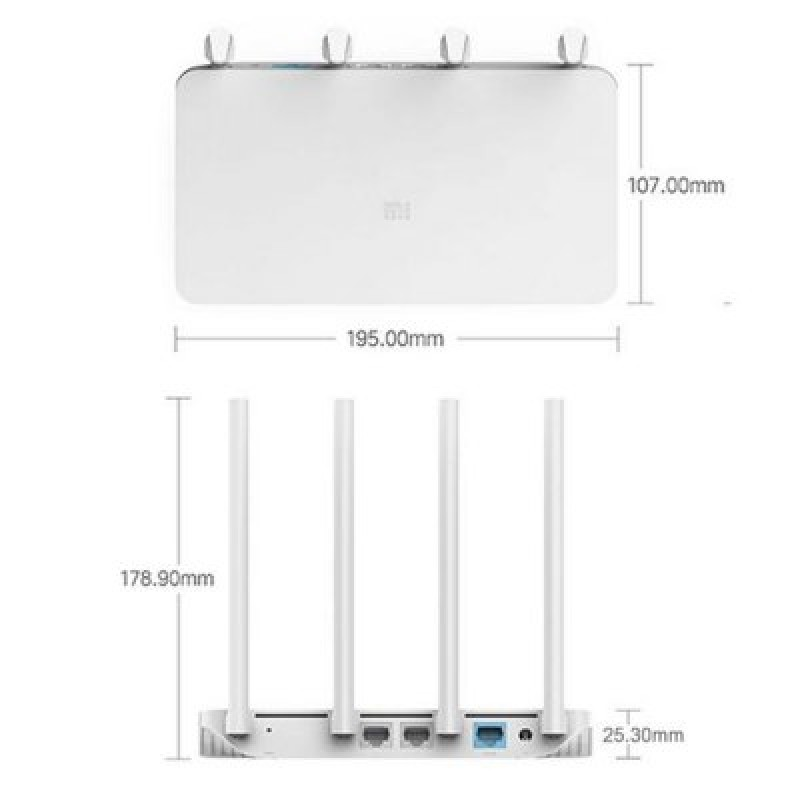 Xiaomi Mi WiFi Router 3С, N300, DVB4128CN Роутер