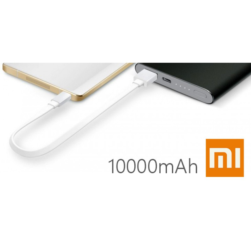 Power Bank Xiaomi Mi Power Bank 2, 10000mAh, серебристый