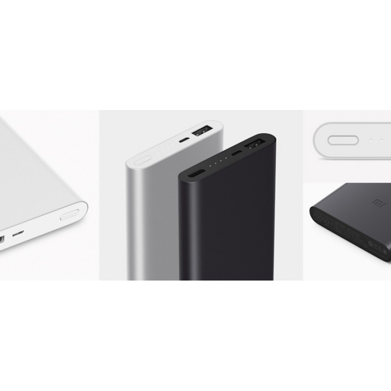 Power Bank Xiaomi Mi Power Bank 2, 10000mAh, черный