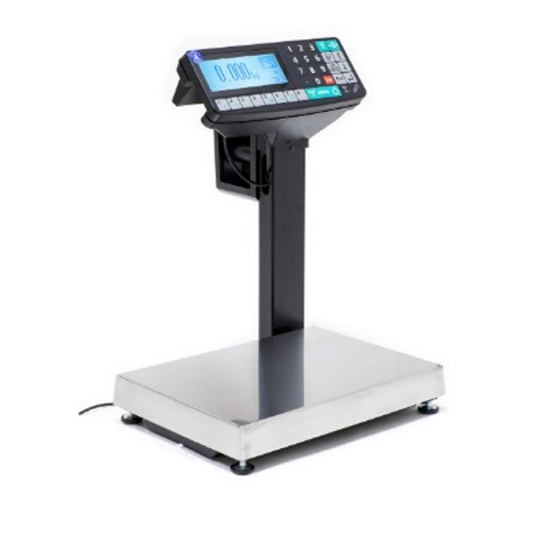 Торговые весы-регистраторы с печатью Масса-К МК-15.2-RP10-1