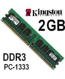 Оперативная память  Kingston DDR3 2Gb, 1333MHz, DIMM