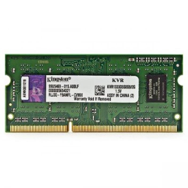 Оперативная память для ноутбука, Kingston DDR3 2Gb, 1333MHz, SO-DIMM