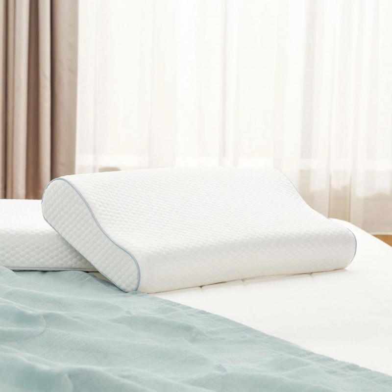 "Xiaomi 8H three curve neck memory cotton pillow H1, подушка c ""памятью"""