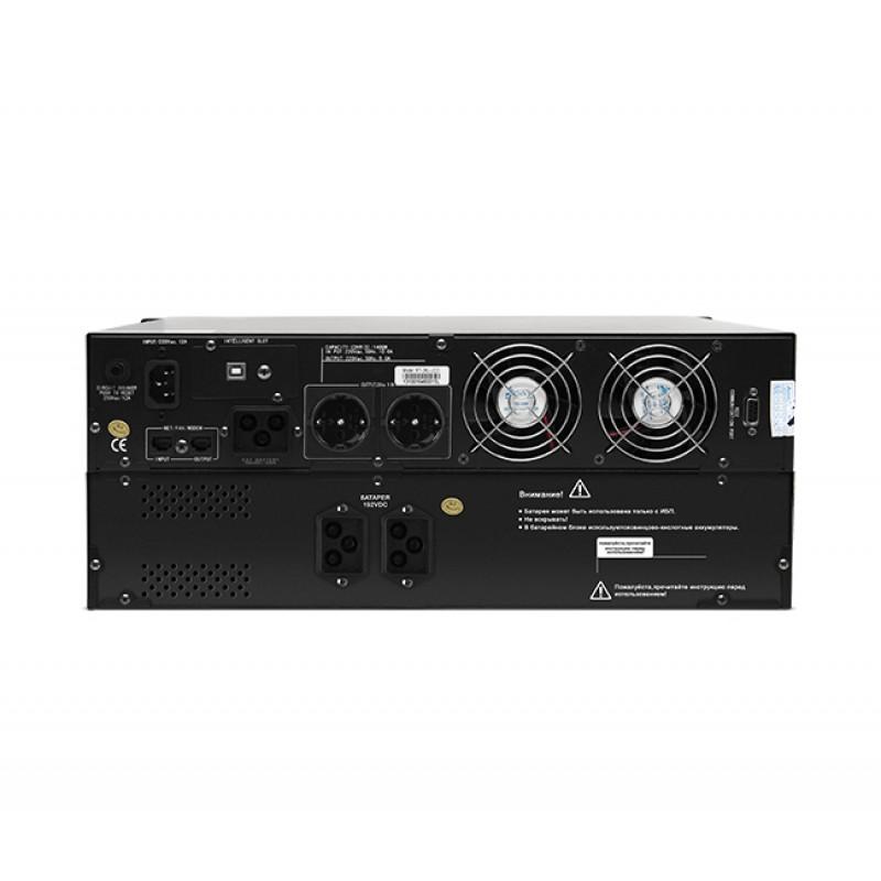 UPS SVC RT-3KL-LCD, 3000VA (2100W), стоечный 19'' 4U, On-Line, Smart, AVR