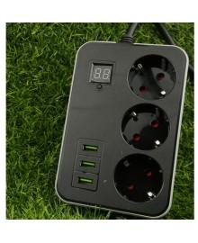 Сетевой фильтр удлинитель с таймером Smart Power SM03