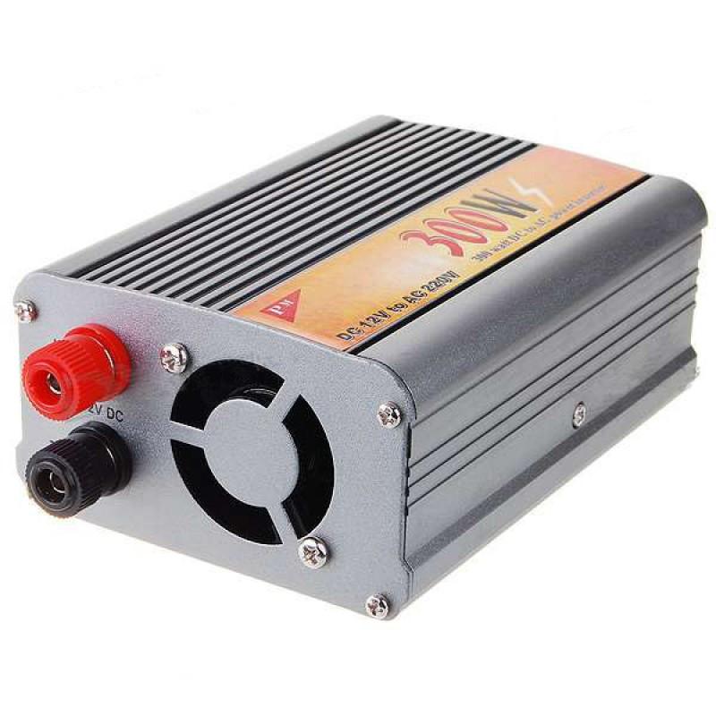 Инвертор автомобильный Meind 300W, DC 12V to AC 220V