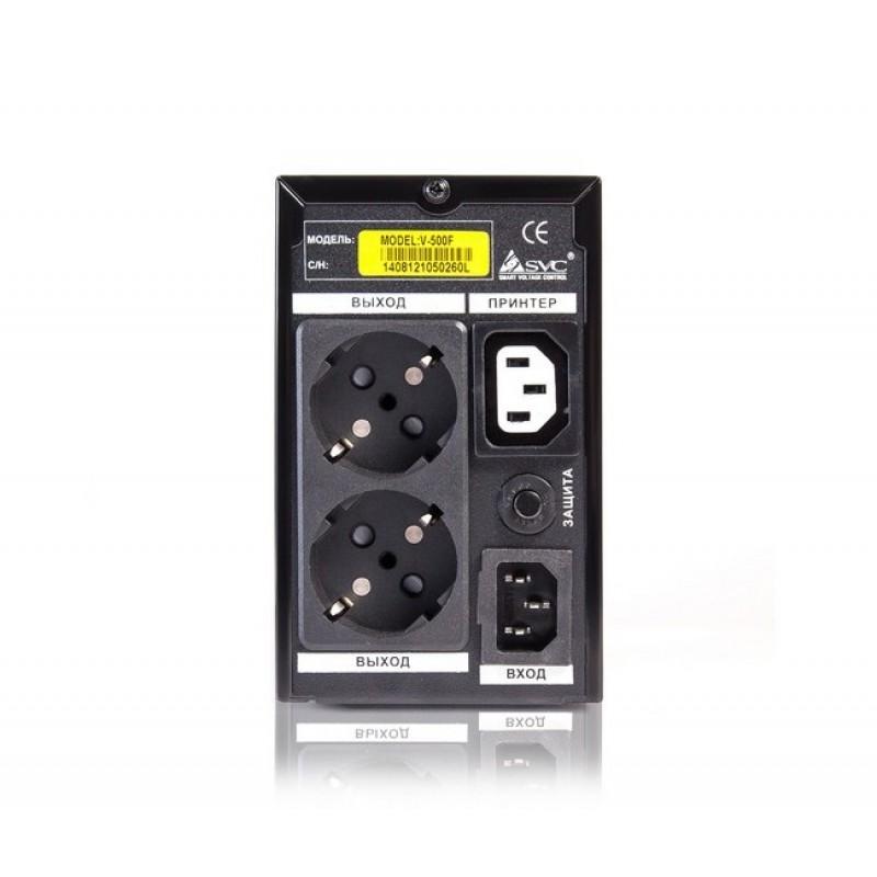 UPS SVC V-500-F, 500VA, 300Вт, AVR стабилизатор