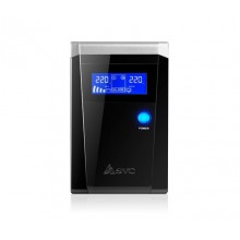 UPS SVC V-1200-F-LCD, Smart, USB, 1200VA, 720Вт, AVR cтабилизатор