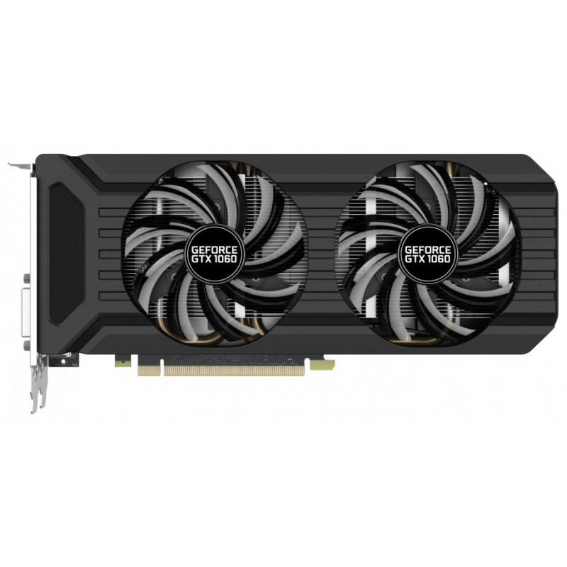 Видеокарта Palit GeForce GTX 1060 DUAL 3Gb