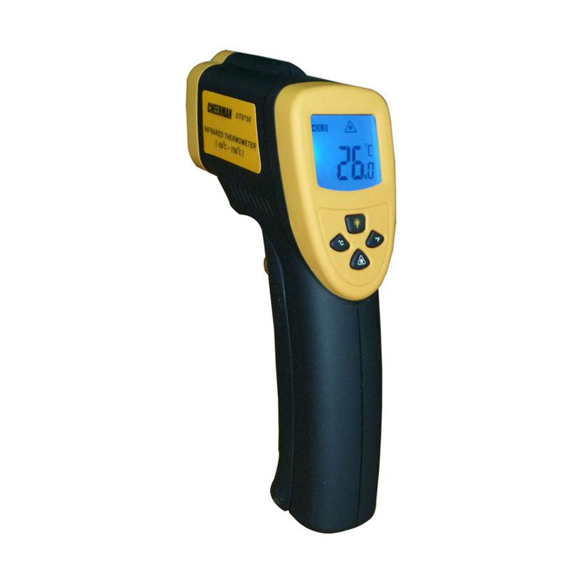 Инфракрасный бесконтактный пирометр DT8750, от -50 до +750°C